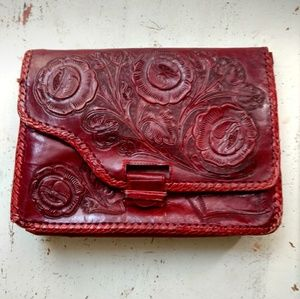 Vintage tooled purse